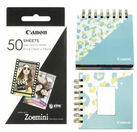 Fotopapír Canon ZP-2030, 50 x 76mm, 50ks, pro Zoemini + fotoalbum + stojánek (3215C007)