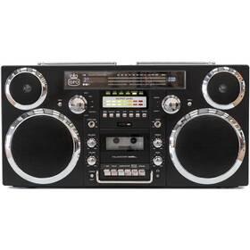 Radiomagnetofon DAB+/CD GPO Brooklyn, černý