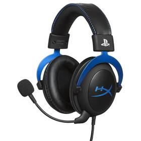 Headset HyperX Cloud Gaming pro PS4 (HX-HSCLS-BL/EM) černý/modrý