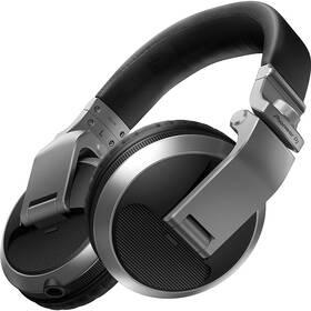 Sluchátka Pioneer DJ HDJ-X5-S (HDJ-X5-S) stříbrná