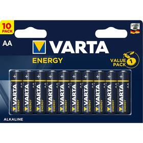 Baterie alkalická Varta Energy AA, LR06, blistr 10ks (4106229491)