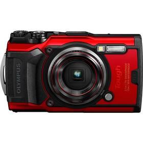 Digitální fotoaparát Olympus TG-6 červený