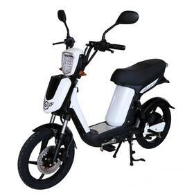 Elektrická motorka RACCEWAY E-Babeta E-BABETA, bílý-matný bílá barva