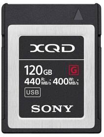 Paměťová karta Sony XQD G 120 GB (440R/400W) (QDG120F)
