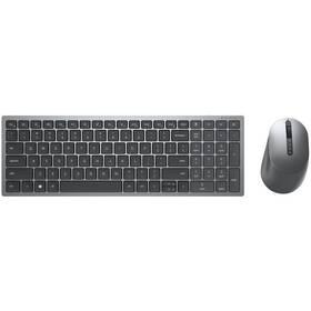 Klávesnice s myší Dell Multi-Device KM7120W, CZ/SK (580-AIWQ) šedá
