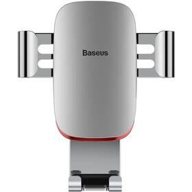 Držák na mobil Baseus Metal Age Gravity (SUYL-D0S) stříbrný