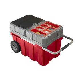 Box na nářadí Keter Masterloader (17191709) šedý/červený