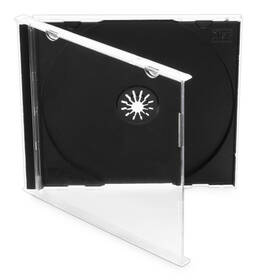 Obal Cover IT pro CD,10mm jewel, 10ks/bal (27001P10) černý