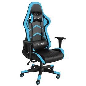 Herní židle Marvo CH-106 (CH-106 BU) černá/modrá