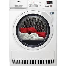 Sušička prádla AEG AbsoluteCare® T8DBK68WC bílá barva