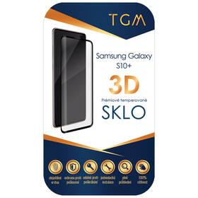 Tvrzené sklo TGM 3D na Samsung Galaxy S10+ (TGM3DSGS10PBK) černé