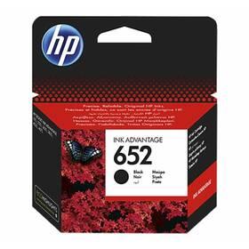 Inkoustová náplň HP 652, 360 stran (F6V25AE) černá