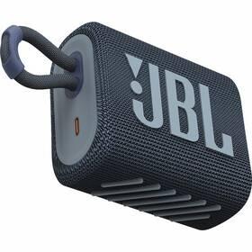 Přenosný reproduktor JBL GO3 modrý