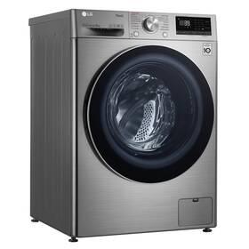 Pračka LG F4WV909P2TE stříbrná
