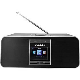 Internetový radiopřijímač Nedis RDIN5005BK černý