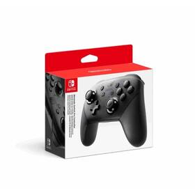 Ovladač Nintendo Switch Pro Controller (NSP140) černý