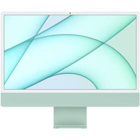 "Počítač All In One Apple iMac 24"" CTO M1 8x GPU, 16GB, 512GB, CZ - Green (Z12V0017B)"