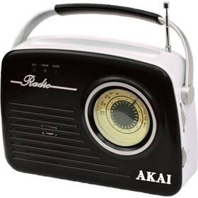 Radiopřijímač AKAI APR-11 černý