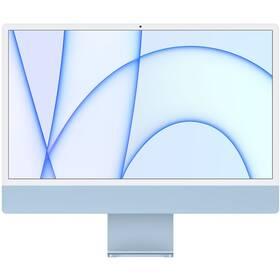 "Počítač All In One Apple iMac 24"" M1 8x GPU, 8GB, 256GB, CZ - Blue (MGPK3CZ/A)"