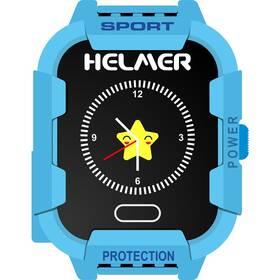 Chytré hodinky Helmer LK 708 dětské s GPS lokátorem (Helmer LK 708 B) modrý