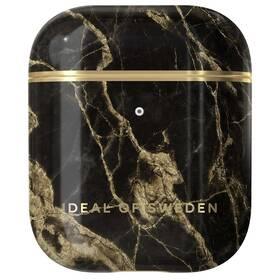 Pouzdro iDeal Of Sweden pro Apple Airpods - Golden Smoke Marble (IDFAPC-191)