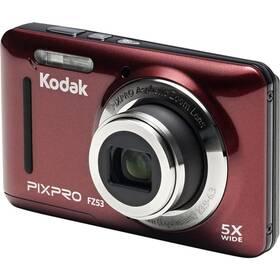 Digitální fotoaparát Kodak Friendly Zoom FZ53 (819900012446) červený