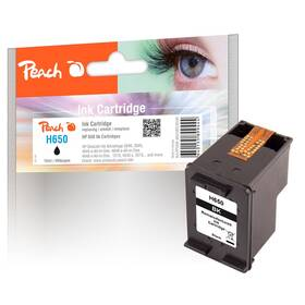 Inkoustová náplň Peach HP 650,215 stran, kompatibilní (318545) černá