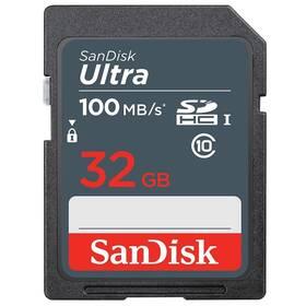Paměťová karta SanDisk SDHC Ultra 32GB UHS-I U1 (100R/20W) (SDSDUNR-032G-GN3IN)
