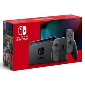 Herní konzole Nintendo Switch s Joy-Con v2 (NSH002) šedá