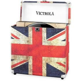 Kufřík Victrola na vinylové desky (VSC-20-UK-EU) červený