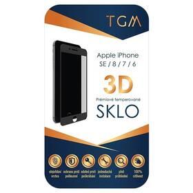 Tvrzené sklo TGM 3D na Apple iPhone 6/7/8/SE (2020) (TGM3DAPIP7/8BL) černé