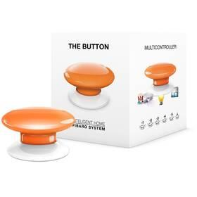 Tlačítko Fibaro Button, Z-Wave Plus (FIB-FGPB-108-ZW5) oranžové