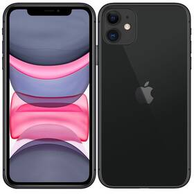 Mobilní telefon Apple iPhone 11 256 GB - Black (MHDP3CN/A)