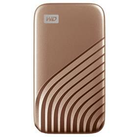 SSD externí Western Digital My Passport SSD 500GB (WDBAGF5000AGD-WESN) zlatý
