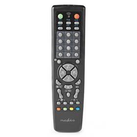 Dálkový ovladač Nedis univerzální 10v1, vhodný pro více než 250 značek (TVRC2200BK)