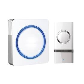 Zvonek bezdrátový Solight 1L20, do zásuvky, 120m (1L20) bílý