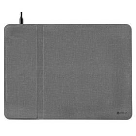Podložka pod myš COTEetCI CS5186, bezdrátové nabíjení (CS5186-GY) šedá