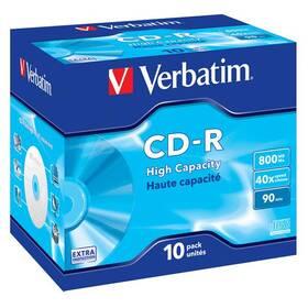 Disk Verbatim Extra Protection CD-R DL 800MB/90min, 40x, jewel box, 10ks (43428)
