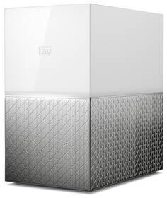 Datové uložiště (NAS) Western Digital My Cloud Home Duo 4TB (WDBMUT0040JWT-EESN) stříbrné/bílé