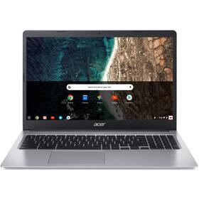 Notebook Acer Chromebook 315 (CB315-3H-C6HK) - ZÁNOVNÍ - 12 měsíců záruka stříbrný