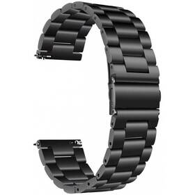 Řemínek WG Universal 1, kovový, 22mm (9096) černý
