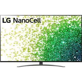 Televize LG 65NANO86P stříbrná