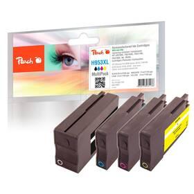Inkoustová náplň Peach HP No. 953XL, MultiPack, 1x43/3x20 ml (319957)