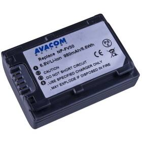 Baterie Avacom Sony NP-FV30, NP-FV50 Li-Ion 6.8V 980mAh 6Wh (VISO-FV50-142)