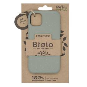Kryt na mobil Forever Bioio na Apple iPhone 11 (HOUAPIP11BIOGR) zelený