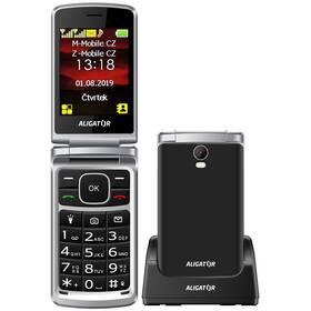 Mobilní telefon Aligator V710 Senior Dual SIM (AV710BS) černý