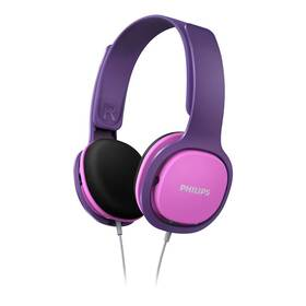 Sluchátka Philips SHK2000 (SHK2000PK/00) růžová/fialová