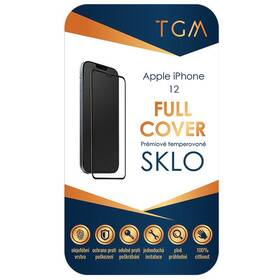 Tvrzené sklo TGM Full Cover na Apple iPhone 12 Mini (TGMFCAPIP1254) černé