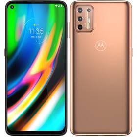 Mobilní telefon Motorola Moto G9 Plus 4/128 GB - ZÁNOVNÍ - 12 měsíců záruka zlatý