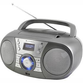 Radiopřijímač s DAB+ Soundmaster SCD1800TI šedý